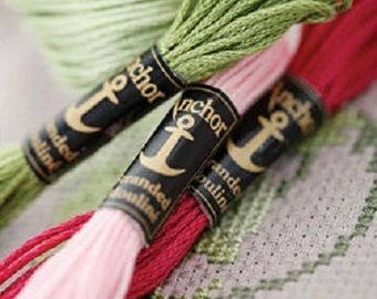 Embroidery Floss by ANCHOR - 12 skeins