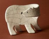 Ceramic Polar Bear Cub....
