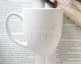 Engraved MOM Mug, Mother's Day, World's Best MOM, Gift for Mom, Coffee Cup, Mom Gifts, Mom Mugs, Unique Mugs, Mom Quote, Pretty Mug for Mom