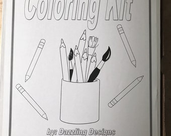 Kids Coloring Kit