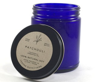 Patchouli Candle, Patchouli Oil, Soy Candle, Soy Candles Handmade, Soy Wax Candles