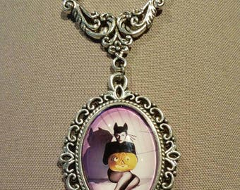 Halloween Pinup Necklace