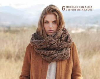 Katia Nomada Knitting Pattern Book - Softcover - 6 Designs - All patterns in English and Spanish - 23 Pages