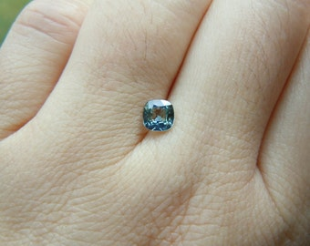 Genuine Montana Sapphire Light Blue Green .61 carat Loose Gemstone for Jewelry Ethically Mined
