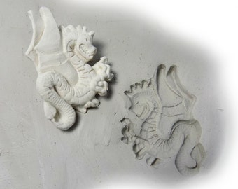 clay stamps - Dragon stamp - pottery tools -metal stamps -soap stamps -bisque stamps -ceramic stamps  - # 289