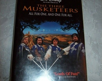 SAlE 20% Off The Three Musketeers Vintage VHS Video Tape Now 4.80 USD