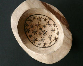 Blackthorn Wood Offering and Spell Bowl