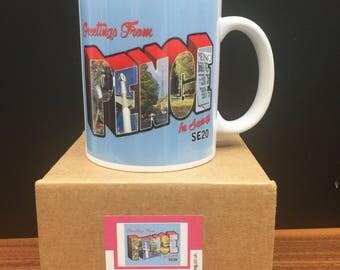 Retro inspired Penge Mug for fans of London SE20