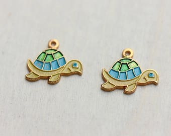 Turtle Charms (2x)