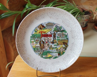 Vntg Tennessee Collectable Souvenir Decorative Plate