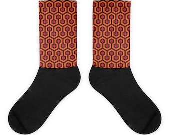 The Shining, Outlook Hotel Pattern Socks