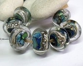 Amazing Earth, Lampwork Beads, SRA, UK