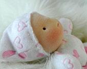 7 in Mini Baby...Waldorf Inspired  by Jemilynndolls