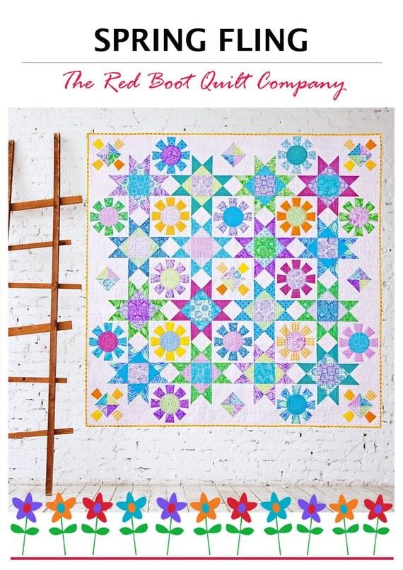 Spring Fling - Digital PDF Quilt Pattern