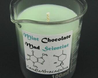 Mini Beaker Soy Candle (100 mL)