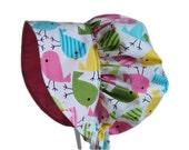 Baby Bonnet, Baby Sun Hat, Baby Girl Sun Bonnet, Summer  Bonnet, Photo Prop, Cotton Hat,Toddler Bonnet, Newborn Bonnet, Infant Made To Order