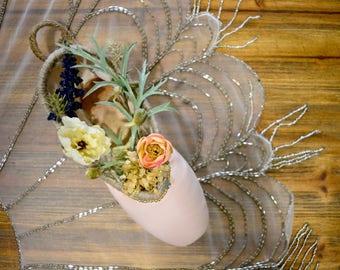 Vintage Flower Shop: Decorated Pointe Shoe