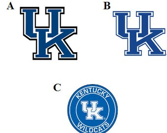 University of Kentucky Decal/RTIC YETI  Car Decal, Computer Decal, Window Decal, Cell Phone Decal