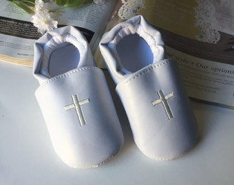 Baptism shoes, baby boy baptism shoes, white shoes, christening shoes,Leather shoes, baby baptism shoes, size 4,5 baby shoes,Narelo