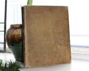 Antique 1899 Basic Reader Book The Rational Method In Reading Third Reader Schoolbook