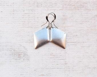 Diamond Shape Square Earrings