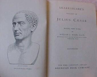 "Edwardian Era Copy of ""Shakespeare's Tragedy of Julius Caesar"""