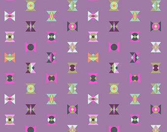 PRESALE - Spirit Animal - Arrowheads in Lunar - Tula Pink for Free Spirit - PWTP043.LUNAR - 1/2 Yard