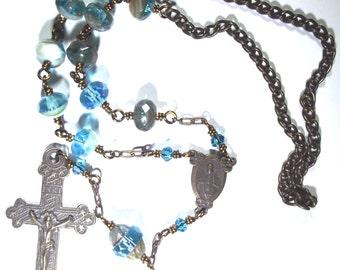 Star Crucifix Car Rosary