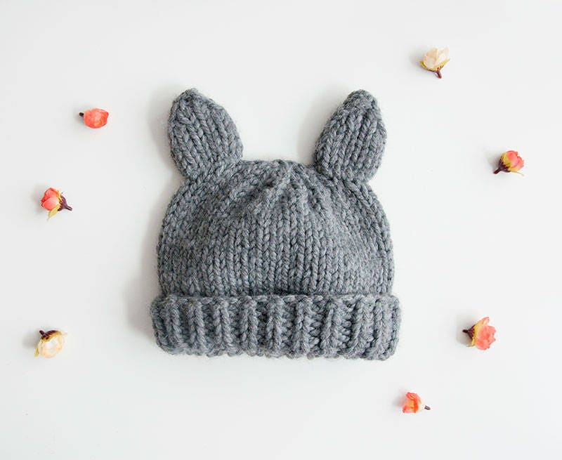 Beginner Knitting Kits Canada : Knitting kit beginners super chunky wolf hat and mittens