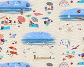 Fun In The Sun - Beach Scenes - Blank Quilting (8302-41) - 1 Yard