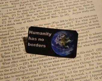 Equality Jewelry Peace jewelry Humanity has no borders Solidarity