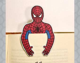 Illustrated Spiderman Bookmark