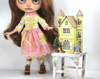 Blythe Doll Dollhouse Dress Table Set