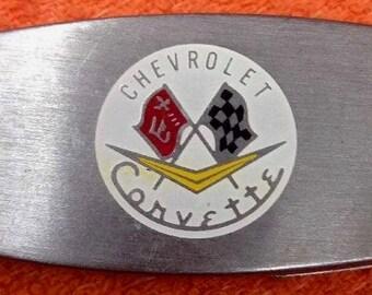 Zippo Corvette Money Clip Knife