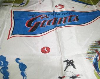 Rare Vintage San Francisco Giants Scarf