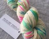 Wool Silk Sock- Unicorn Farts