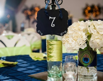Table numbers 1-13