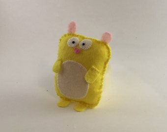 Confused Hamster - Cute felt soft toy