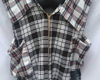 BURBO Handmade Tartan waistcoat