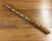 Anasazi Style Bamboo Flute - Fire Treated Bamboo