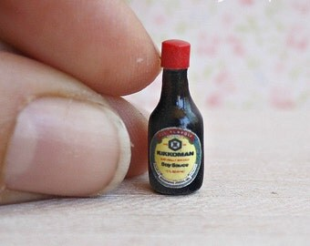 Soya sauce for dollhouse