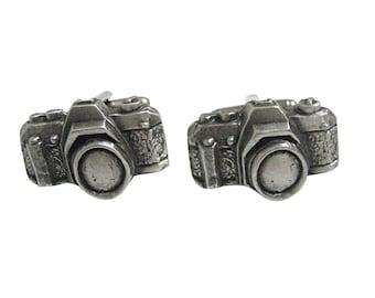 Textured Camera Cufflinks