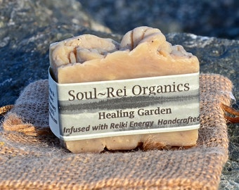 100% Organic Soap small guest size bar