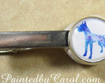 Great Dane Tie Bar, Great Dane Tie Clip, Great Dane Tie Tack, Great Dane Pin, Great Dane Gifts, Great Dane Dad Gifts, Gifts for Great Dane