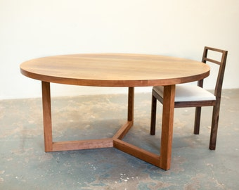 Cherry Round Dining Table