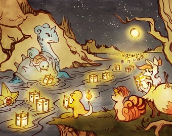 Pokemon Water and Fire Festival