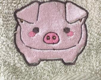 Adorable Piggie Wash cloth