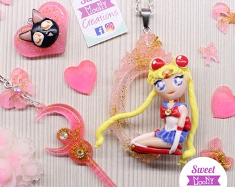 Sailor Moon necklace and jewelry set