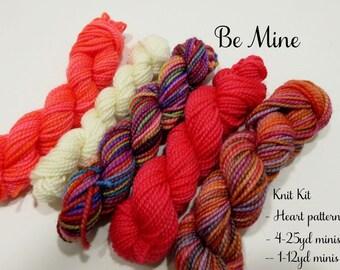 Be Mine Valentine Knit Kit