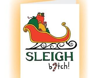 You Better Sleigh, B.